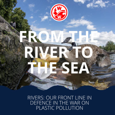 Rivers: Our front line defence in the war on plastic pollution