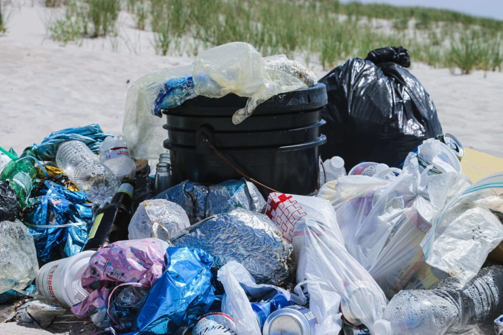 Plastic pollution in marine environment