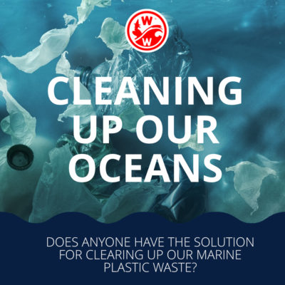 Does anyone have the solution for cleaning up our marine plastic waste?