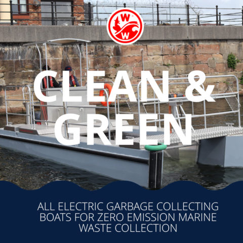 Clean & Green – Creating an all electric garbage collecting boat