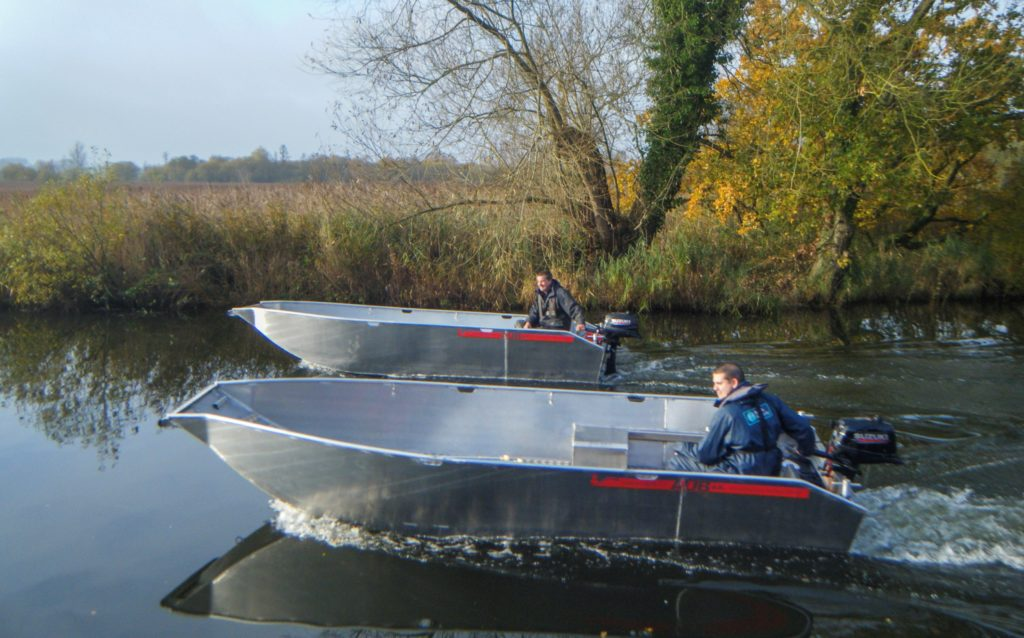 Water Witch AUB aluminium workboat fully welded design