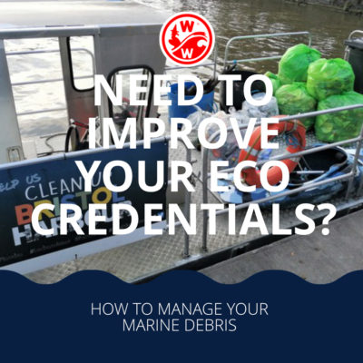 Need to improve your eco credentials? How to manage your marine debris
