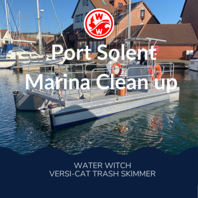 New Vessel Cleans up on Plastics at Port Solent