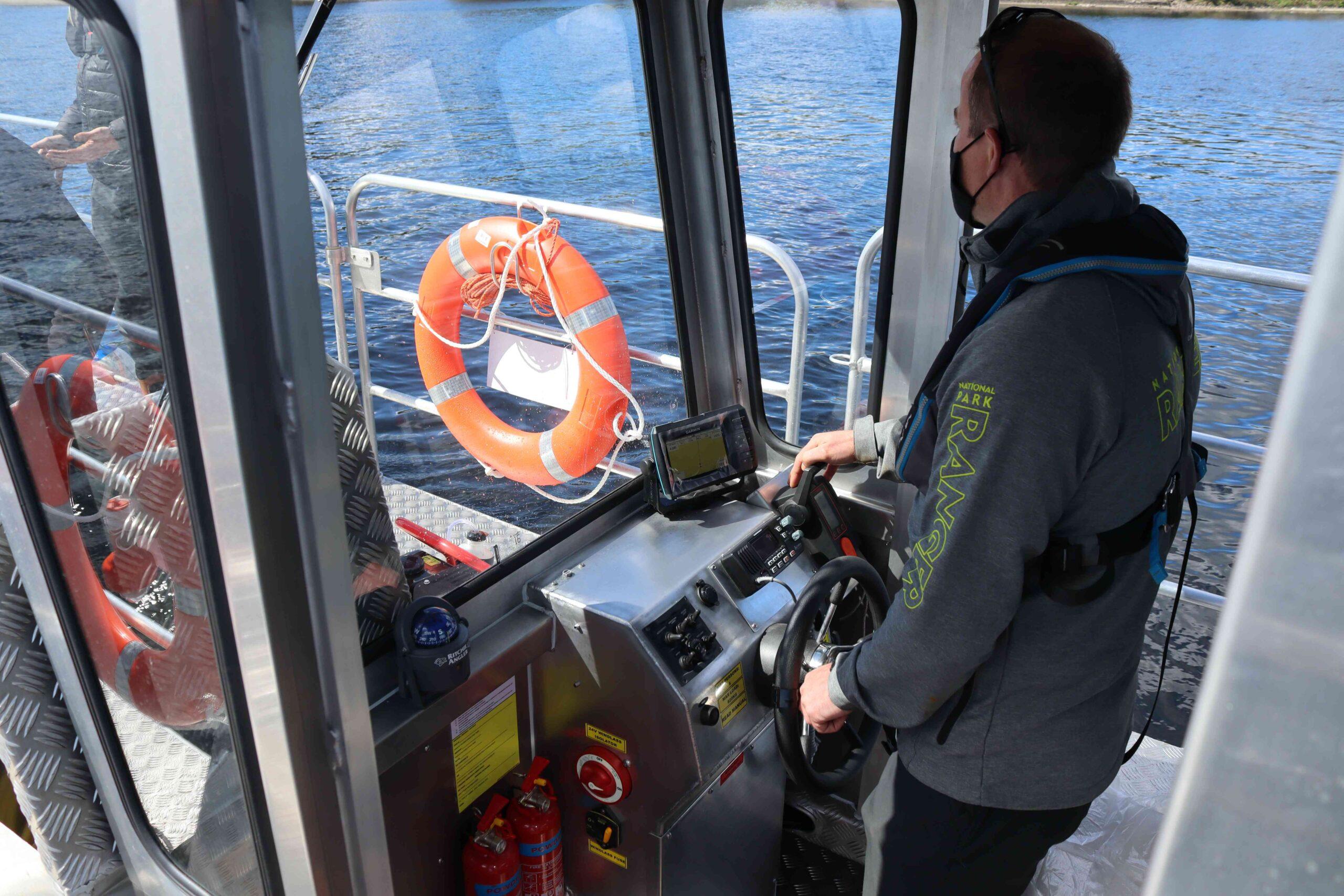 Loch Lomond Electric Workboat